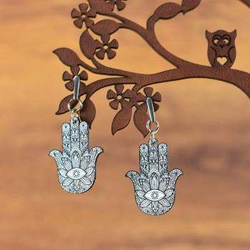 Σκουλαρίκια Fatima Hand