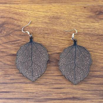Σκουλαρίκια Leaf