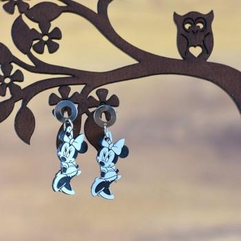 Σκουλαρίκια Minnie