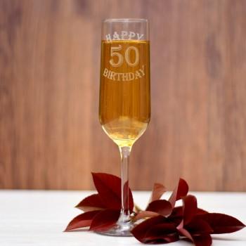 Ποτήρι σαμπάνιας για γενέθλια