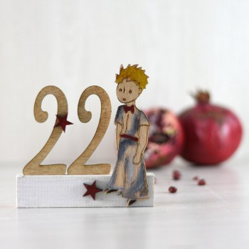 Wooden table charm 22 Little Prince