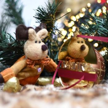 Χριστουγεννιάτικη χρυσή μπάλα Royal