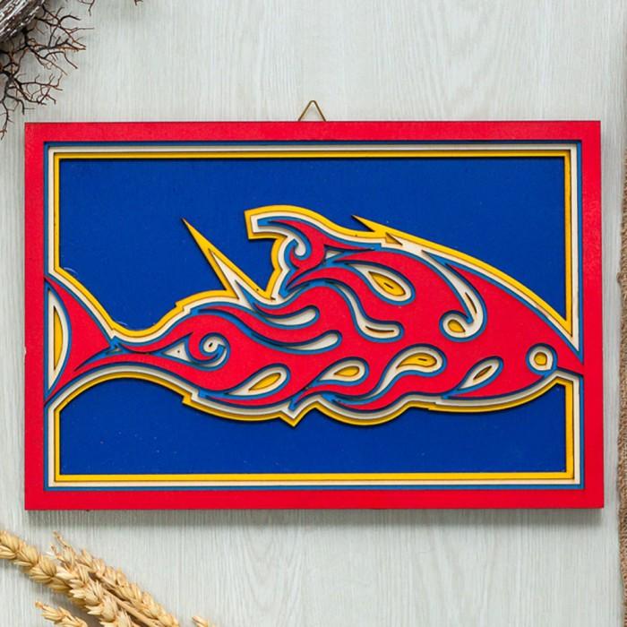 Ξύλινο διακοσμητικό Fish