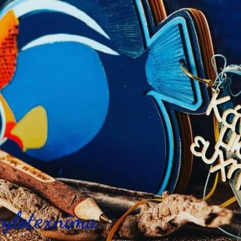 Ξύλινο βιβλίο ευχών The Bubble Fish