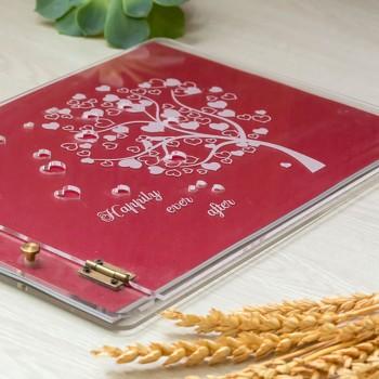 Βιβλίο ευχών plexiglass